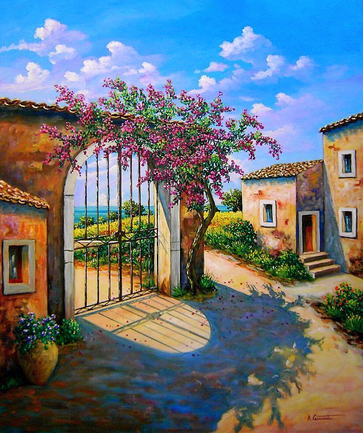 Dipinti comprare quadri acquistare dipinti oli su tela - Chi ha dipinto il bagno turco ...