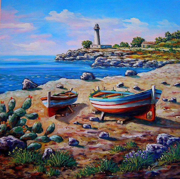 Dipinti comprare quadri acquistare dipinti oli su tela for Quadri dipinti a mano paesaggi