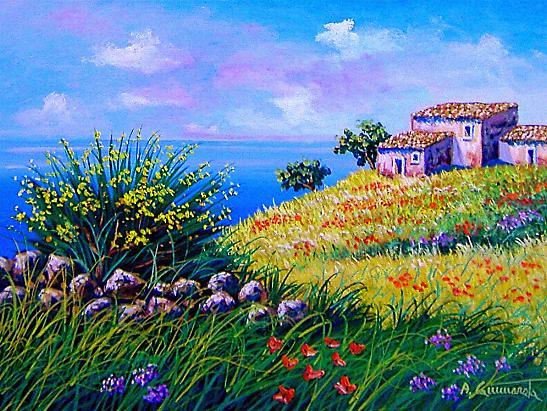 Beautiful Quadri Di Paesaggi Marini Ideas - Brentwoodseasidecabins ...
